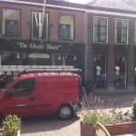 Glasbewassing en gevelreiniging kledingzaak De Oude Sluis in Nieuwegein