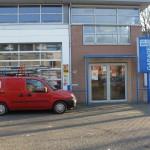 Glasbewassing en gevelreiniging Garage van der Wind in Utrecht