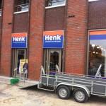 Glasbewassing kledingzaak Henk in Houten